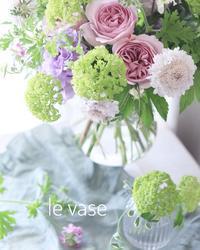 5月Basicレッスン♡ - Le vase*  diary 横浜元町の花教室