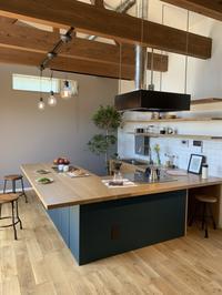 キッチンに立つ喜び💕コの字キッチン出来ました - カフェスタイルの家づくり~Asako's WORK & LIFE