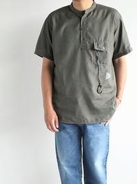and wanderDry Linen Short Sleeve Shirt - 『Bumpkins putting on airs』