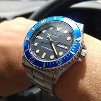 Skx033 ″Blue Sub″Mod 3 - 出窓工房 -Demado Works-
