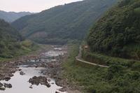 予土線・国道381号屋敷峠 - 南風・しまんと・剣山 ちょこっと・・・