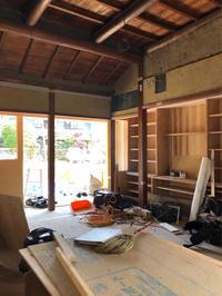 民家改修桜井の家進捗状況 - 国産材・県産材でつくる木の住まいの設計 FRONTdesign