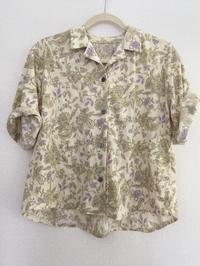 Mパターン研究所オープンカラーシャツ。 - umlaut