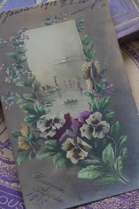 *フランスのアンティークカード色々* - Le Chateau-Rose