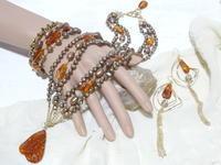 琥珀のデミ・パリュール - Iris Accessories Blog