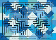 迷路-105/Maze-105/Labyrinthe-105 - セルリカフェ / Celeri Café