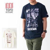 TOPO DESIGNS [トポデザイン] GEAR TEE [GEAR.TEE] ギアTシャツ・オーガニックコットン・MEN'S/LADY'S - refalt blog