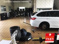 BMW F31 タイヤフィッターさんでタイヤ交換BRIDGESTONE POTENZA S001 RFT - zesta E style