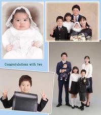 ダブルでおめでとう!! - 中山写真館のブログです。
