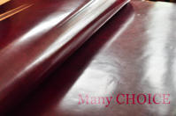 新色・イタリアンヴィンテージバケッタ(ボルドー)入荷です。 - 時を刻む革小物 Many CHOICE~ 使い手と共に生きるタンニン鞣しの革