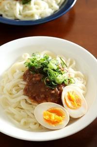 肉みそうどん - Takacoco Kitchen