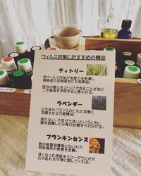 季節のおすすめ精油 - ボディ&アロマリラクセーション*WONDERLAND 大阪住吉区