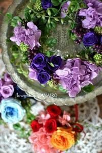 プリザーブドフラワー商品をコツコツと作っております。 - 花色~あなたの好きなお花屋さんになりたい~