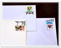 切手フレーム - - Une phrase -