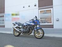 S田サン号 GPZ900Rニンジャのホイールカラー製作からのカウルステー交換で罠・・・(笑) (Part1) - フロントロウのGPZ900Rニンジャ旋回性向上計画!