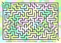 迷路-106/Maze-106/Labyrinthe-106 - セルリカフェ / Celeri Café
