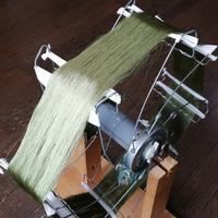 糸の巻き取り - よしのクラフトルーム