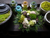 あえて遅れての母の日にアレンジメント。「落ち着いた感じ」。2020/05/25。 - 札幌 花屋 meLL flowers