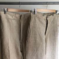 French Military Bourgeron Trousers HBT Linen - DIGUPPER BLOG