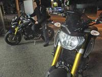 オージー クレ様 MT-10SPとMT-09で夜走り・・・!(^^)! - バイクパーツ買取・販売&バイクバッテリーのフロントロウ!