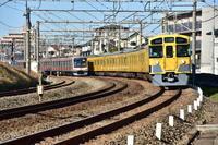 西武新2000系 所沢陸橋下にて - 東京鉄道写真局