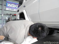GRJ76ランドクルーザー車検整備中٩(ˊᗜˋ*)و - ★豊田市の車屋さん★ワイルドグース日記
