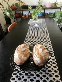 紫玉ねぎでオニオンブレッド - カフェ気分なパン教室  *・゜゚・*ローズのマリ