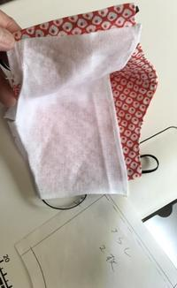 保冷剤用のポケット付マスク - 青山ぱせり日記