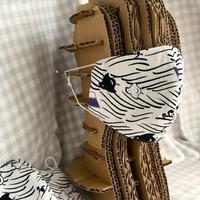 夏に向かって和柄の夏マスク - 布と木と革FHMO-DESIGNS(エフエッチエムオーデザインズ)Favorite Hand Made Original Designs
