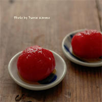 日本酒にひんやり冷たいトマトマリネはいかが? - ふみえ食堂  - a table to be full of happiness -