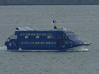 芒種!、、、新造ジェットフォイル船「セブンアイランド結〈YUI〉」テスト中 at ポーアイ沖 - みなと神戸 のんびり風物詩