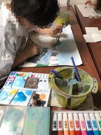 稲沢教室、一般コース、火曜日を紹介します。 - 大﨑造形絵画教室のブログ