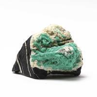 エメラルド母岩付き原石コロンビア産 - 石の音、ときどき日常
