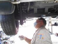 L700Sミラジーノ車検整備中(⌒▽⌒) - ★豊田市の車屋さん★ワイルドグース日記
