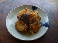長芋のニンニク醤油炒め、おかか和え - LEAFLabo