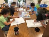 一宮教室、児童コース、水曜日を紹介します。 - 大﨑造形絵画教室のブログ