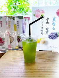 夏香る水出し無料キャンペーン - 茶論 Salon du JAPON MAEDA