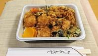 美味しい!ごま油の風味豊かなかき揚げ天丼をテイクアウト・てんぷら黒川@築地場外 - カステラさん