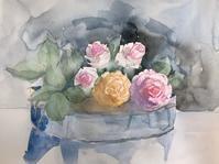 薔薇を描く - ryuuの手習い