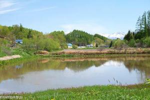 美しい水沢ダム~5月の美瑛 -