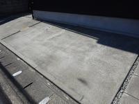 駐車場のコンクリート掃除 - enjoy life to the full 人生を楽しく過ごす!   BESSのワンダーデバイスでもっと楽しく