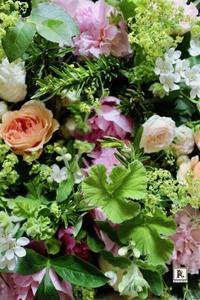 「季節のお花便り」 生命力ある花々と植物を  お届け限定日6月18日着・19日着となります。 - Bouquets_ryoko