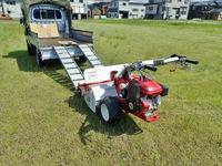 工場跡地の草刈り作業を一人先行しました - 浦佐地域づくり協議会のブログ