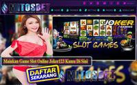 Mitos Joker Gaming Slot Online Judi Slot Joker123 - Situs Agen Judi Online Terbaik dan Terlengkap di Indonesia