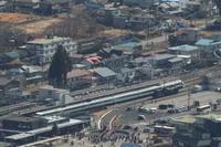 東武特急と転車台と蒸気機関車- 2020年早春・東武鬼怒川線 - - ねこの撮った汽車