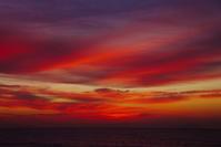 朝焼け雲g - 雲空海