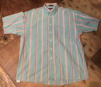 6月8日(月)入荷!80sVAN HUSEN all cotton ストライプボタンシャツ! - ショウザンビル mecca BLOG!!
