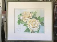 透明水彩でバラを描くRose for Youスイートマスタード - バラのある幸せな暮らし研究所