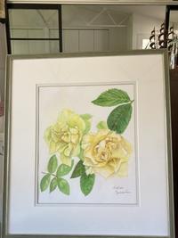 透明水彩でバラを描くRose for You琥珀(こはく) - バラのある幸せな暮らし研究所