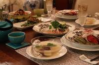 中華風夕食 - ミセス サファイア 静けさの中で